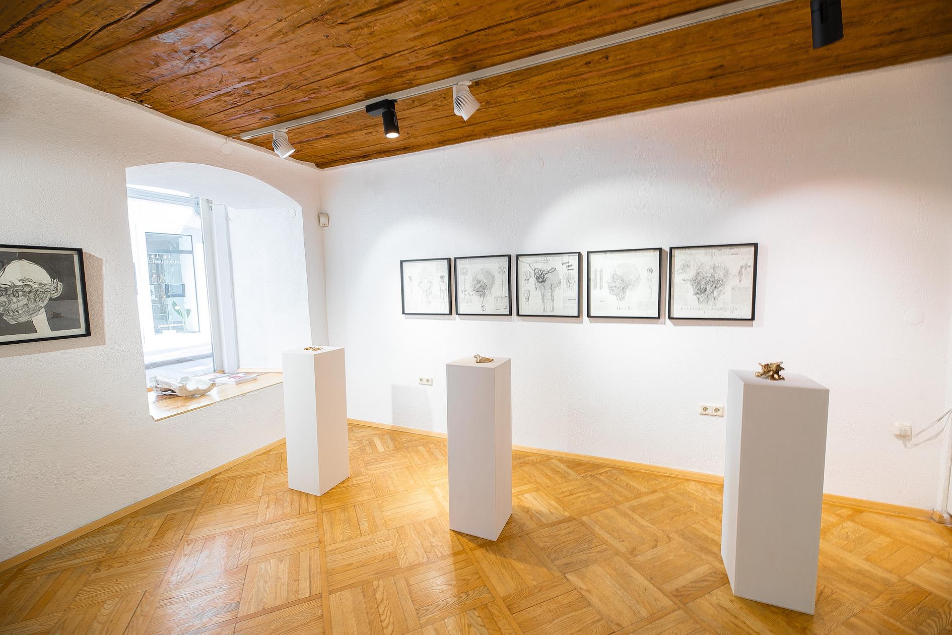 Ausstellung_Nani Hagg_TOMAK_Galerie Frank Wien_Raum vorne