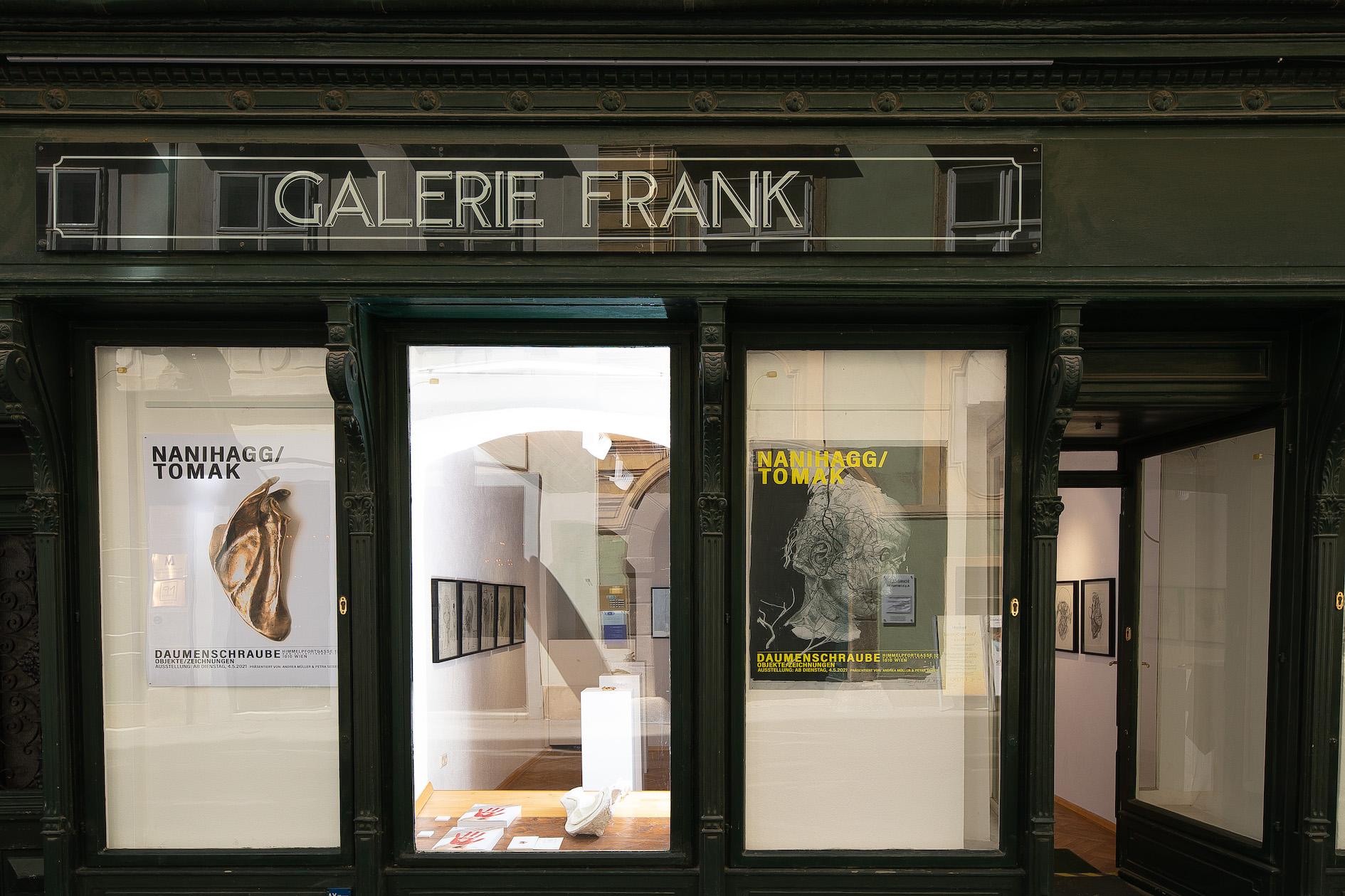 Ausstellung_Nani Hagg_TOMAK_Galerie Frank Wien_Schaufenster