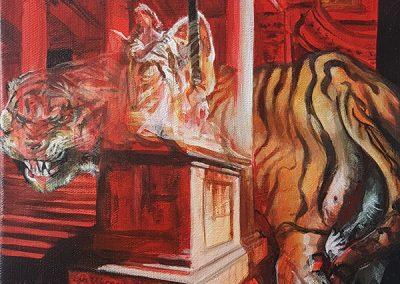 Merlin Dickie_Ein echter Wiener Zirkus_Galerie Frank Wien